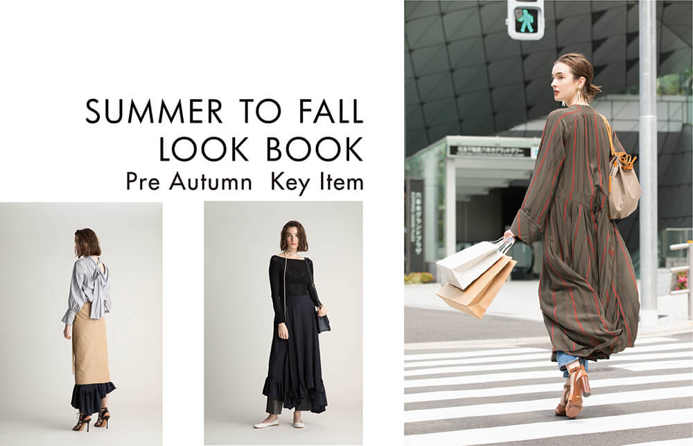 SUMMER TO FALL LOOK BOOK